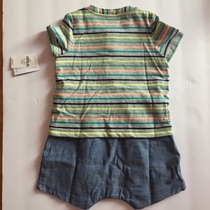 82126086e843 GAP One Pieces - NEW with tag baby GAP 2-in-1 Henley onesies